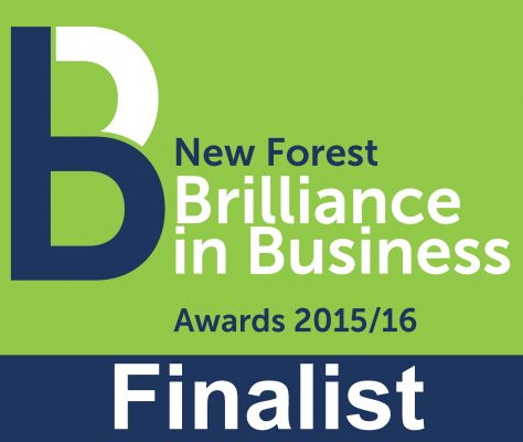 Shortlisted for New Forest Business Award!